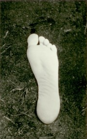 Astral Image of my mother Irena's foot