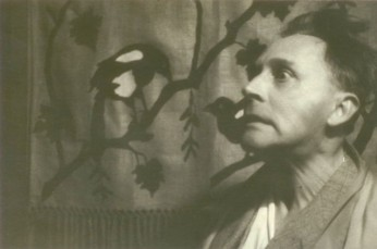Stanislaw Ignacy Witkiewicz - Witkacy,An unknown photograph by unknown cinema actor Carfaldo Ricci