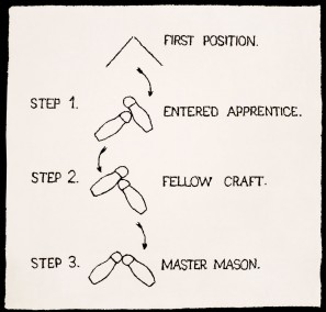 First Three Steps in Masonry